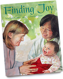 Children's book illustration painting for Finding Joy, by Yong Chen.