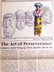 The Art of Perseverance: Chinese Artist Yong Chen Speaks about Art.